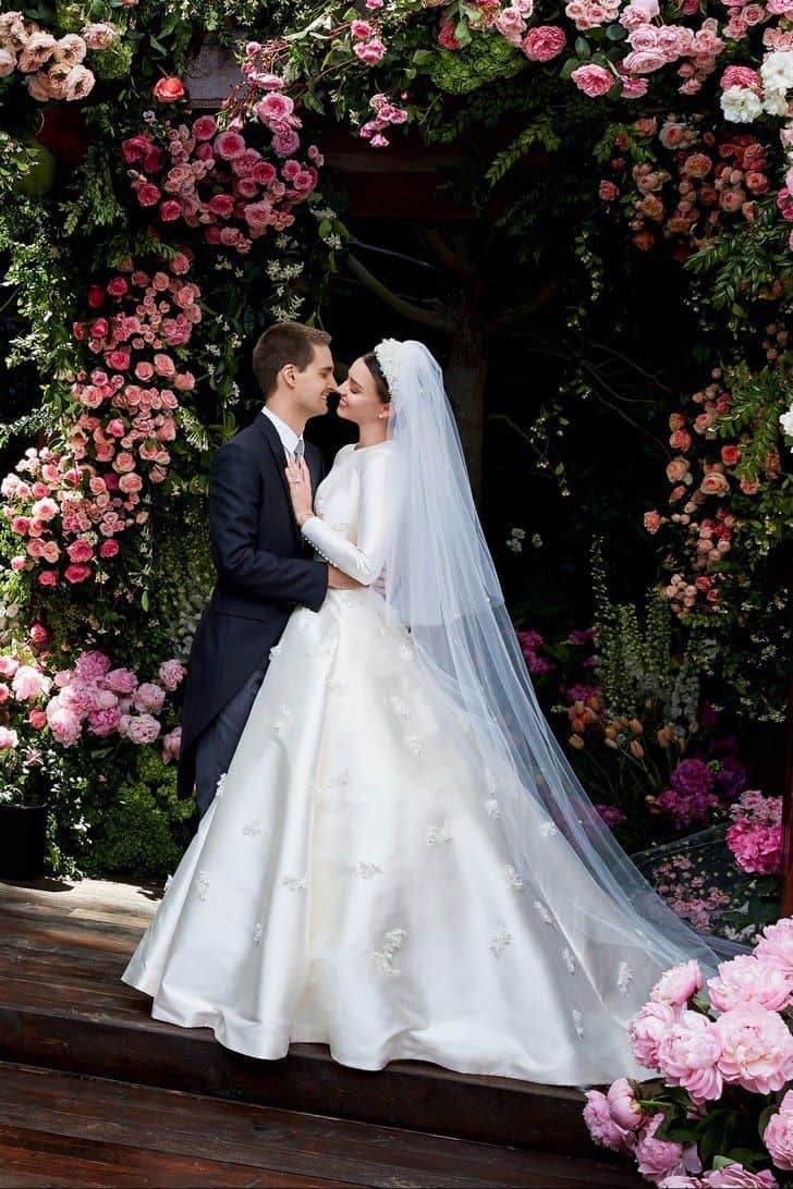 Most Beautiful Celebrity Brides Of All Time