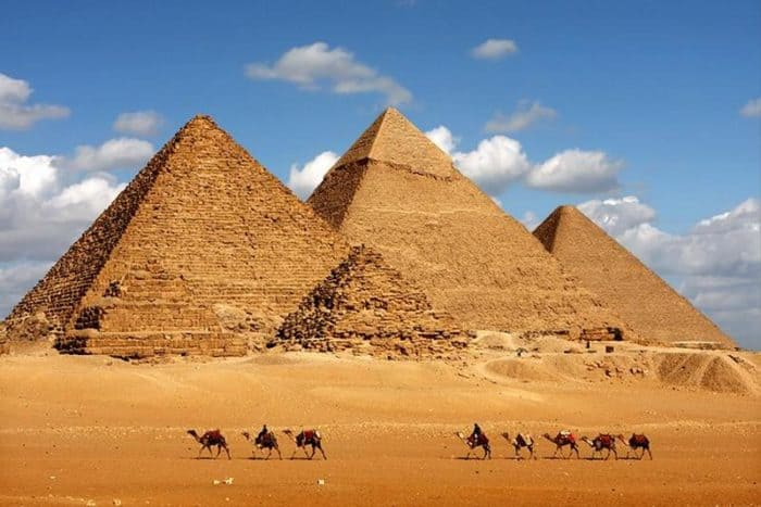 Archaeologists Reveal The Mystery Behind The Giza Pyramids