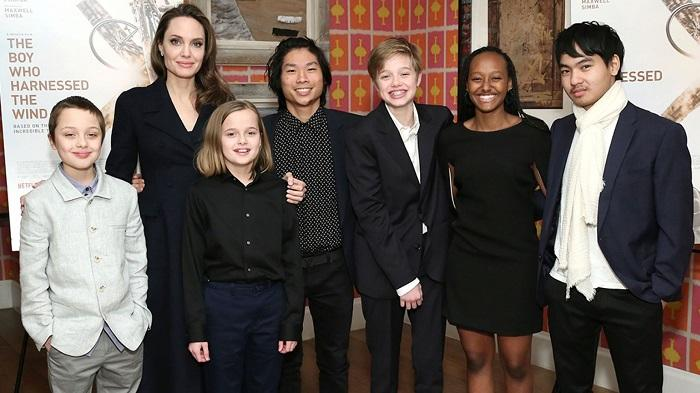 See What The Jolie-Pitt Kids Are Up To Now