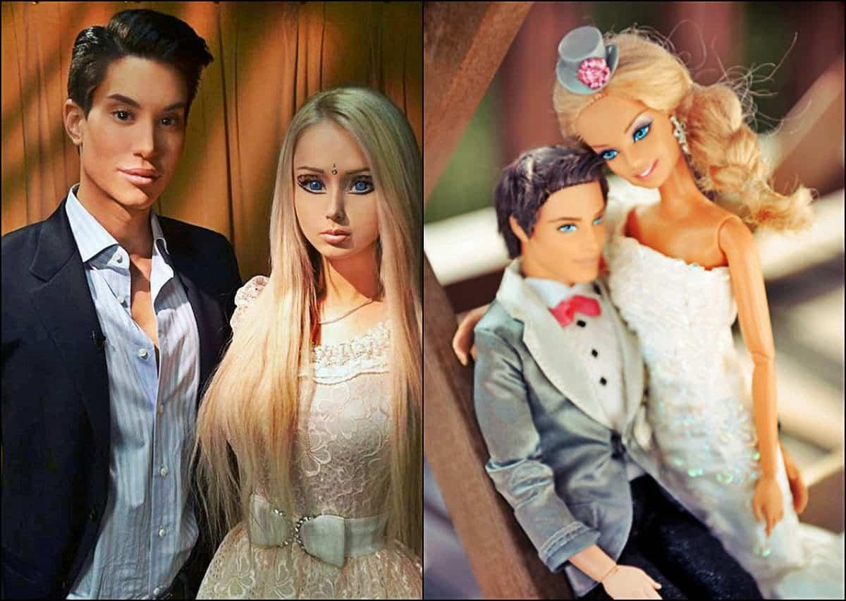 Life In Plastic Is Fantastic? — Human Barbie And Human Ken's Tense Relationship