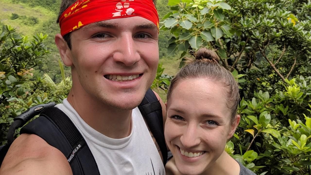 Husband Fell Into A Volcano On Honeymoon And Survived Thanks To His Wife